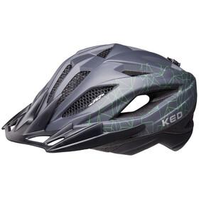 KED Street MIPS Helmet Kids anthracite/green matte